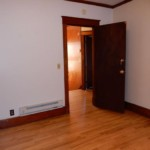 Entrance of room with wooden room