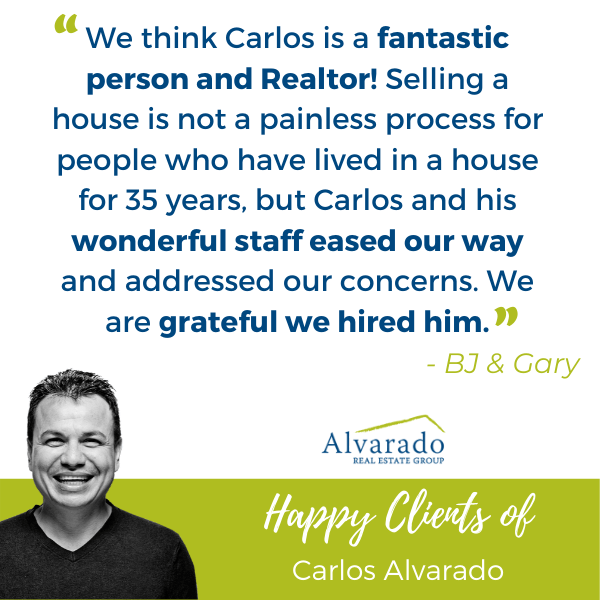 Happy Clients of Alvarado Real Estate Group!