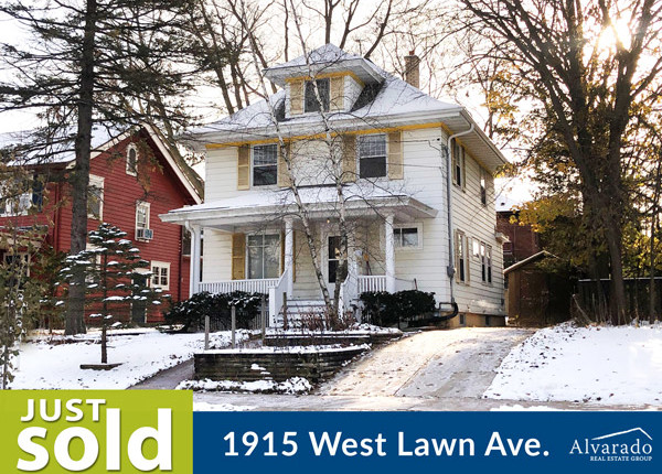 1915 West Lawn Ave, Madison – Sold by Alvarado Real Estate Group