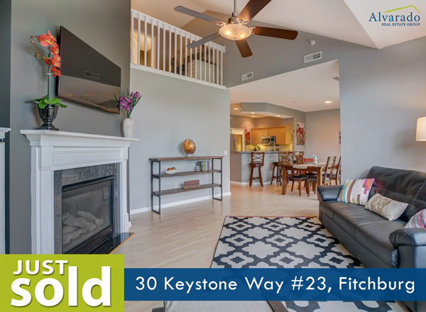 30 Keystone Way #23, Fitchburg – Sold by Alvarado Real Estate Group