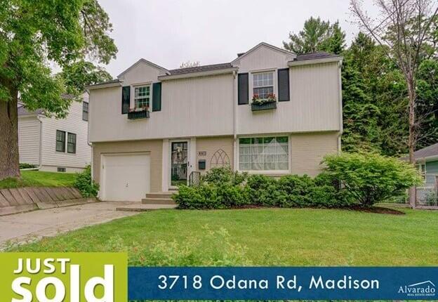 3718 Odana Rd, Madison – Sold by Alvarado Real Estate Group