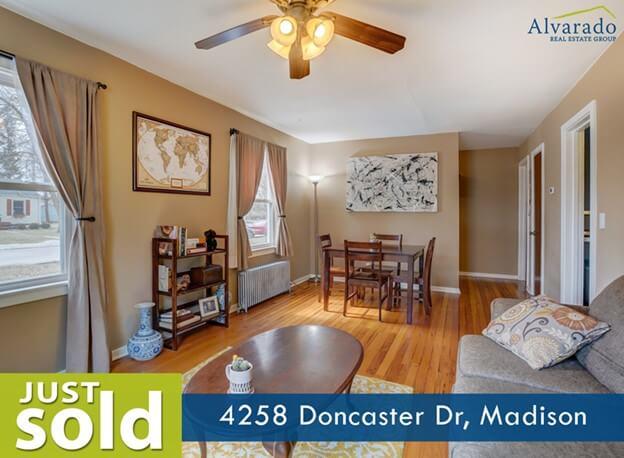 4258 Doncaster Dr, Madison – Sold by Alvarado Real Estate Group