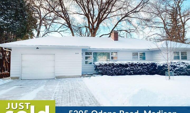 5205 Odana Road, Madison – Sold by Alvarado Real Estate Group