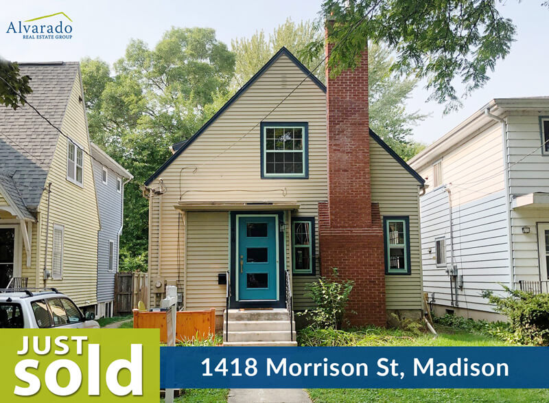 1418 Morrison St, Madison – Sold by Alvarado Real Estate Group