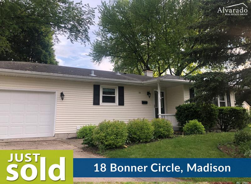 18 Bonner Circle, Madison – Sold by Alvarado Real Estate Group