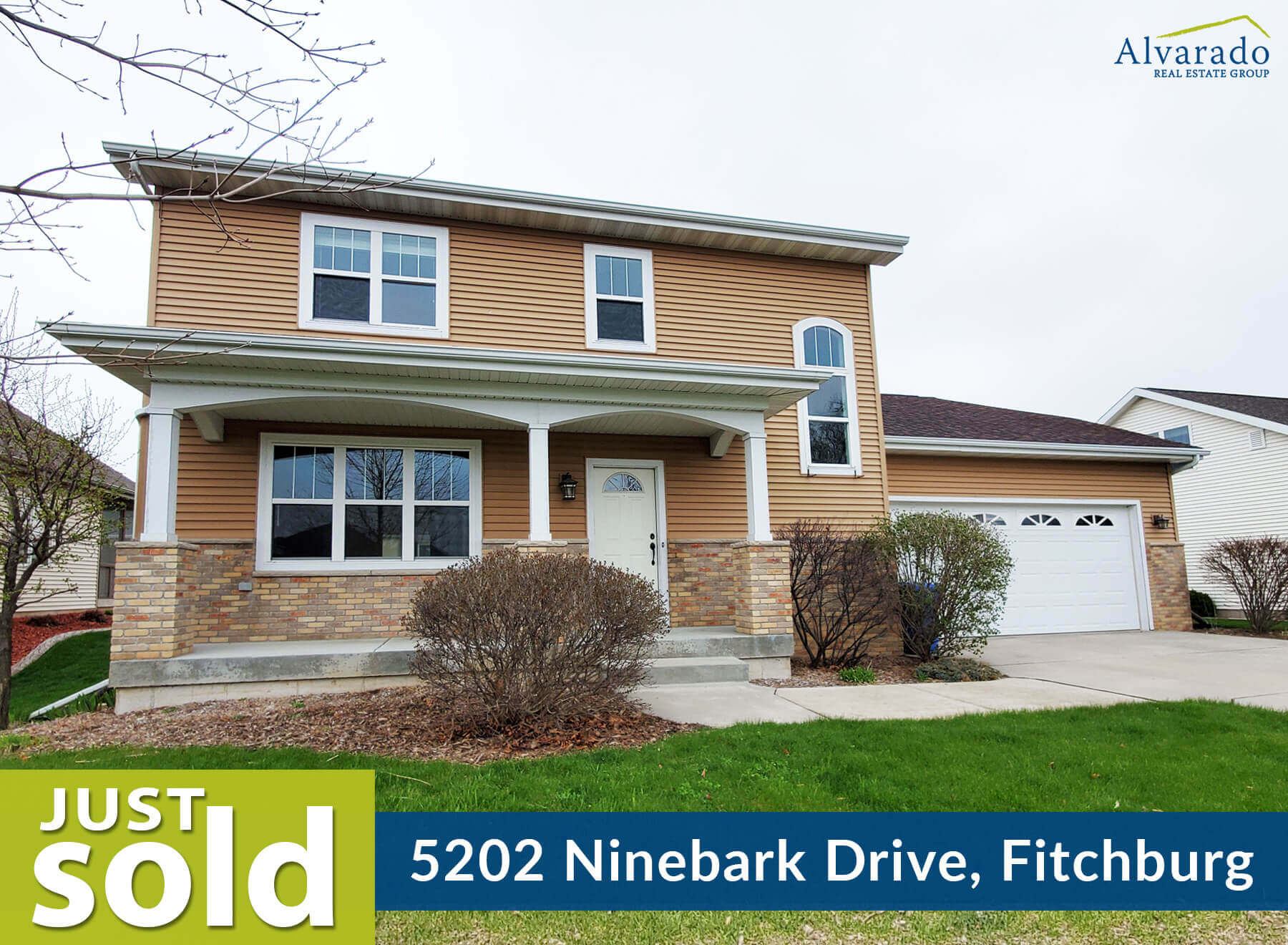 5202 Ninebark Drive, Fitchburg – Sold by Alvarado Real Estate Group