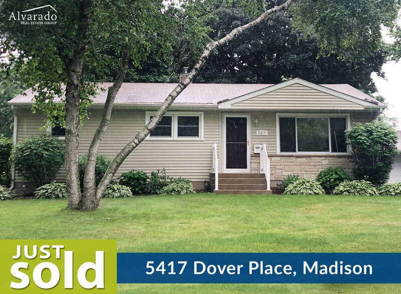 5417 Dover Place, Madison – Sold by Alvarado Real Estate Group