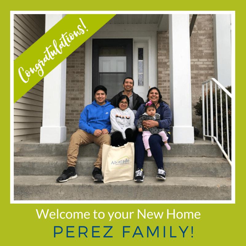 Congratulations Perez Family!