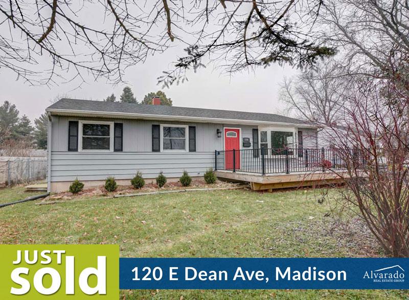120 E Dean Ave, Madison – Sold by Alvarado Real Estate