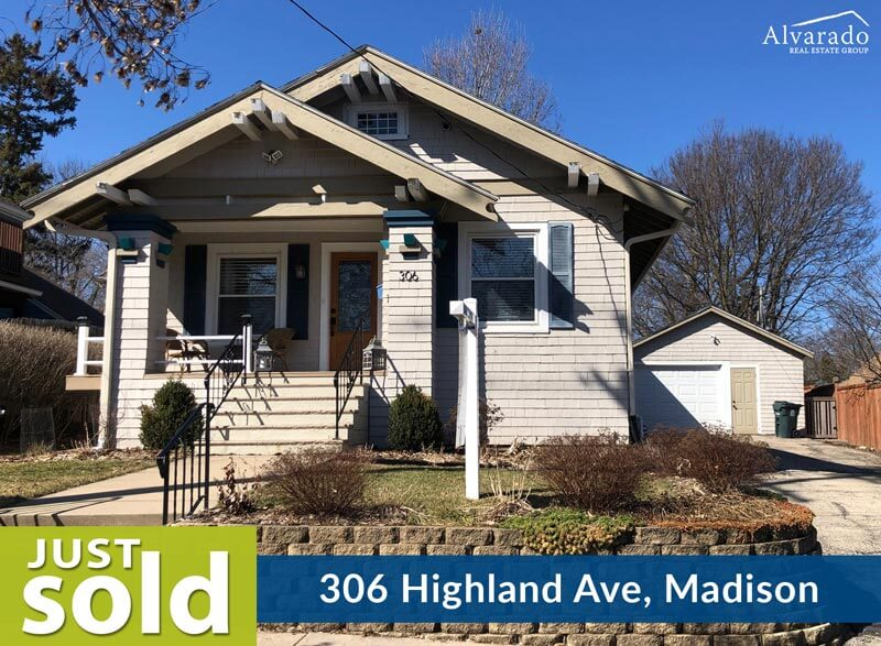 306 Highland Ave, Madison – Sold by Alvarado Real Estate Group