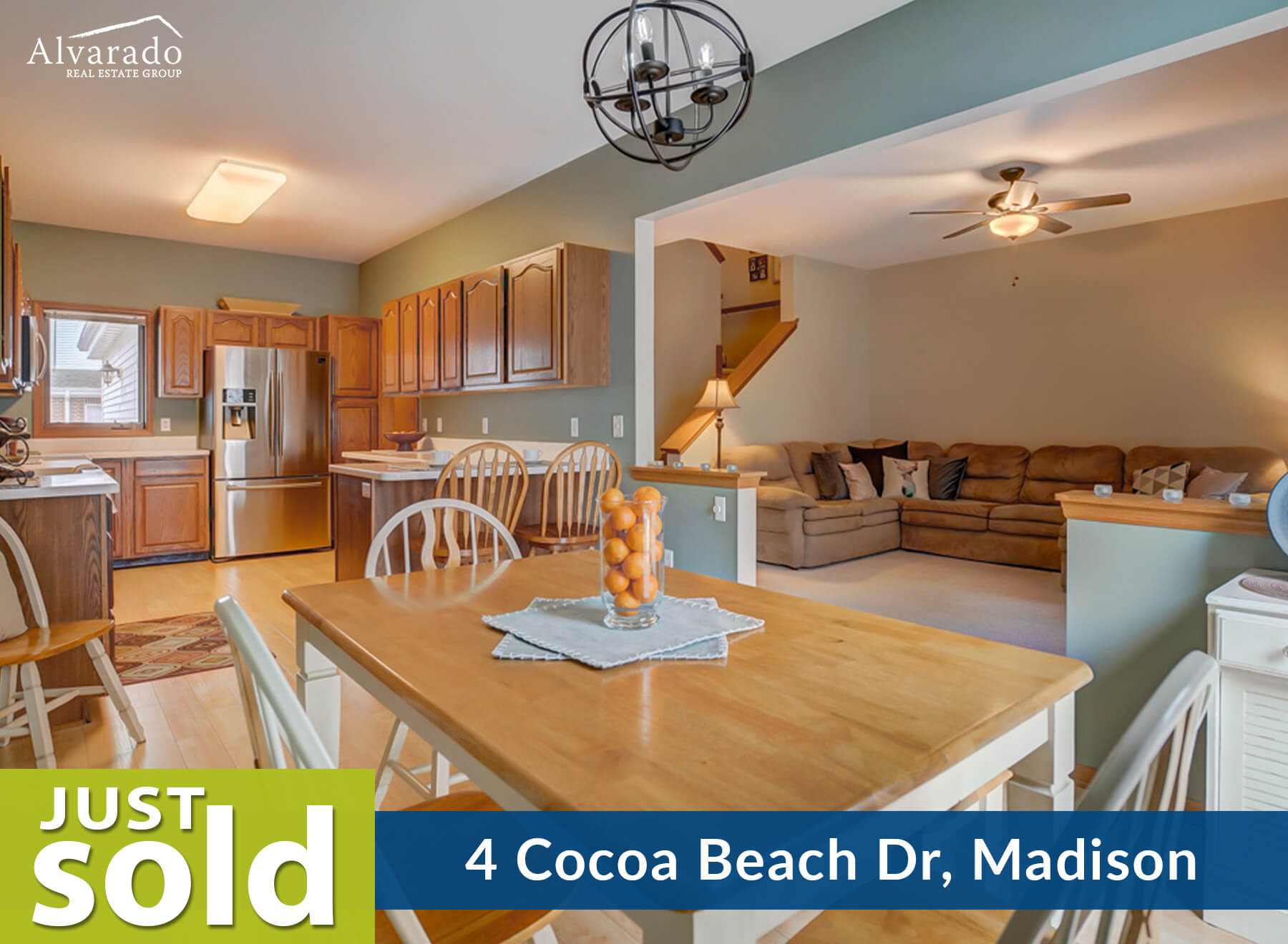 4 Cocoa Beach Dr, Madison – Sold by Alvarado Real Estate Group