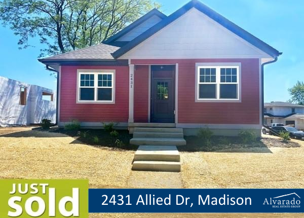 2431 Allied Dr, Madison – Sold by Alvarado Real Estate Group
