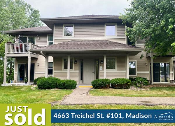 4663 Treichel St #101, Madison – Sold by Alvarado Real Estate Group