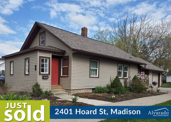 2401 Hoard St, Madison – Sold by Alvarado Real Estate Group