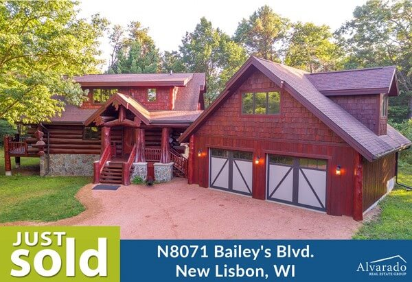 N8071 Bailey's Blvd, New Lisbon – Sold by Alvarado Real Estate Group