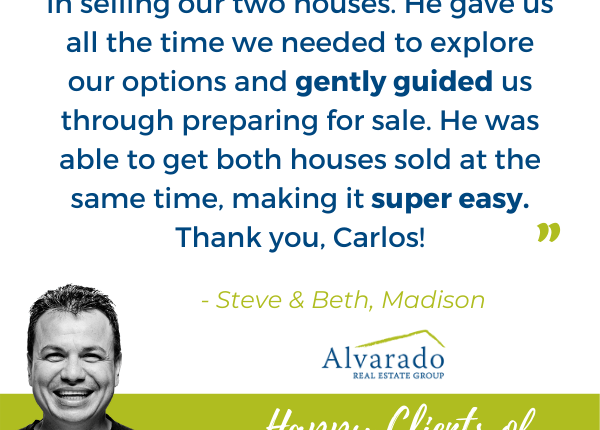 Happy Clients of Alvarado Real Estate Group!