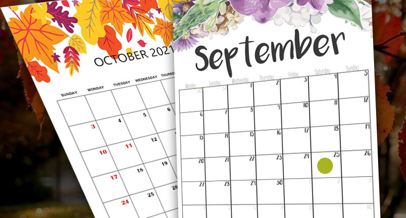 Mark your calendar with all these fun September and October events!
