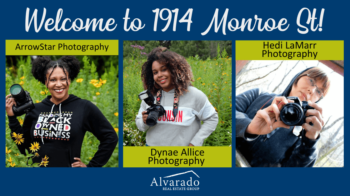 3 new photography tenants at Monroe St